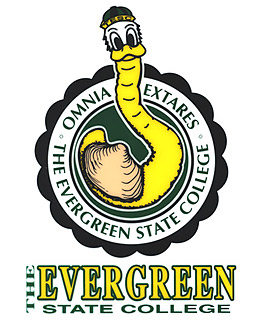 Evergreen State College: Speedy the Geoduck Mascot